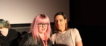 Lisa Brook and Aubrey Plaza @ EIFF 2014