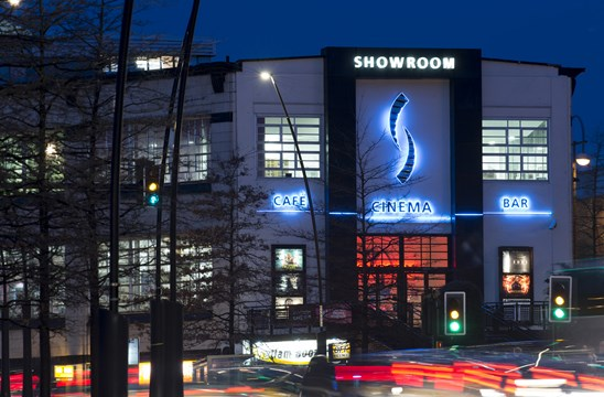Showroom cinema building