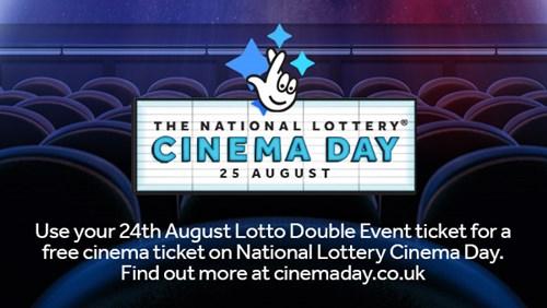 National Lottery Cinema Day - Showroom Workstation - Sheffield